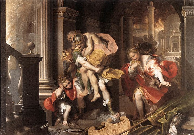 800px-aeneas27_flight_from_troy_by_federico_barocci